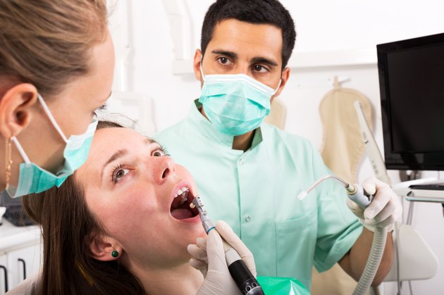 Patient reception at dentist