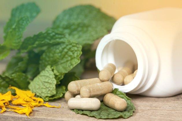 Herb capsule medicine
