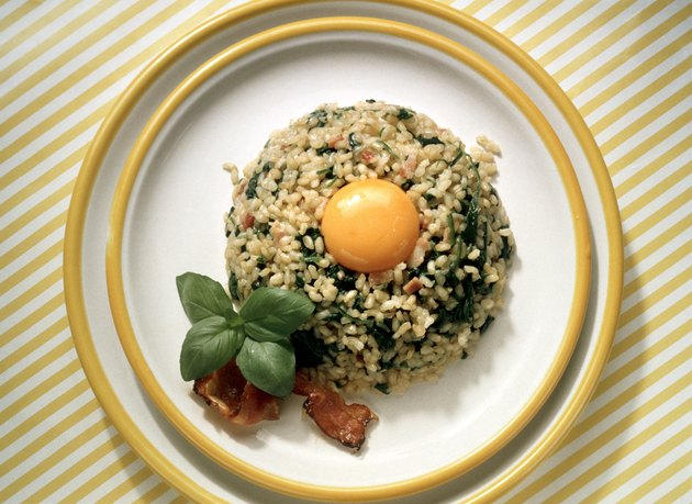 Brown Rice with Egg