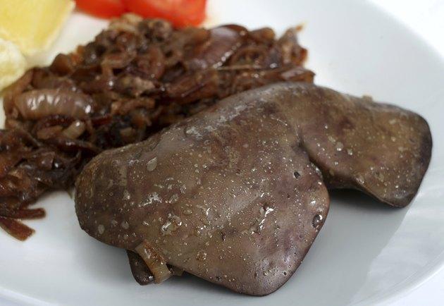 Lambs liver meal horizontal