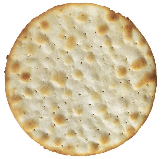 close-up of a cracker