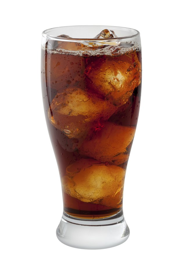 Soda Cola Isolated with clipping path