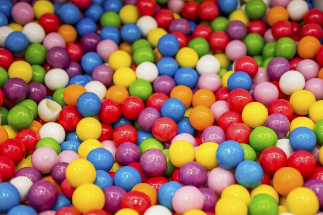 Selection of gumballs