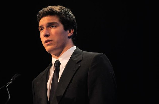 NEW YORK - NOVEMBER 17: Will Reeve speaks at the Christopher & Dana Reeve Foundation's A Magical Evening 20th Anniversary Gala at the New York Marriott Marquis on November 17, 2010, in New York City. (Photo by Jemal Countess/Getty Images for Christopher & Dana Reeve Foundation)