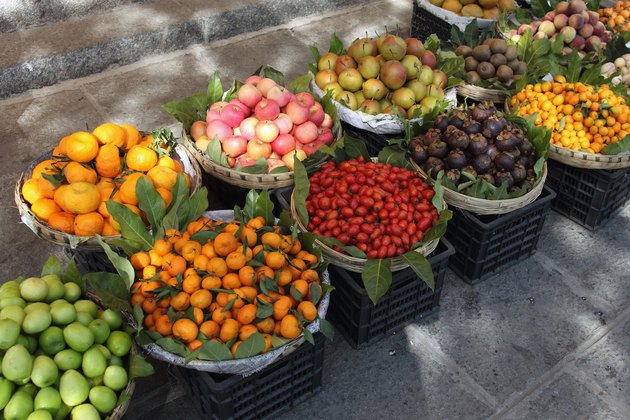 Outdoor fruit stand