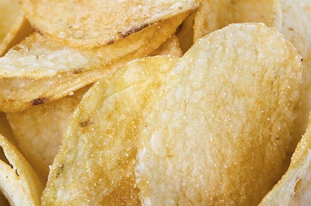 Potato chips, background