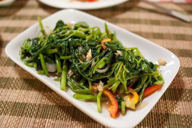 Stir-fried vegetables