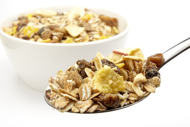 muesli cereals food