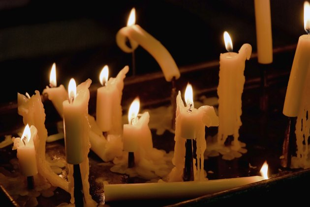 Candles in church 2