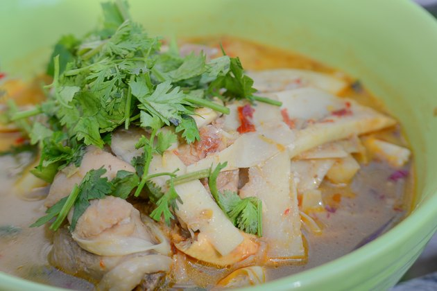 Cabbage soup diets,thai style food.