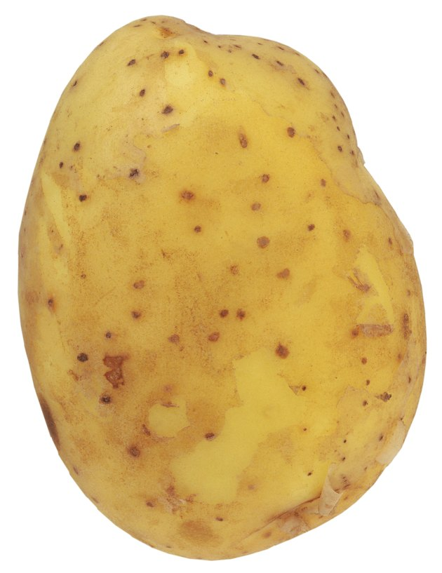 close-up of a potatoes