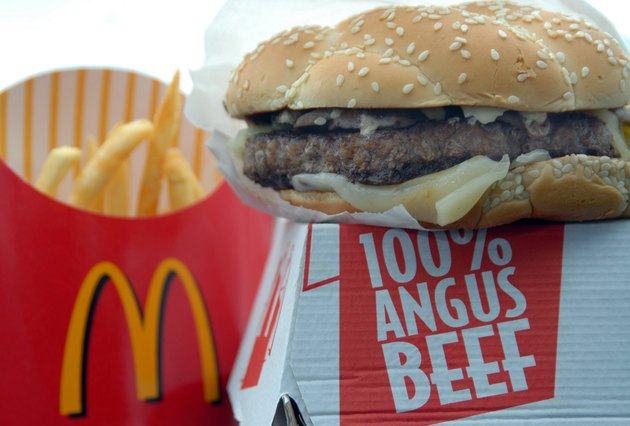 "McDonalds Tests Bigger, Premium ""Angus Third Pounder"""