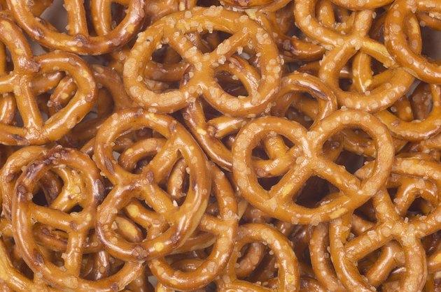 Salty pretzels