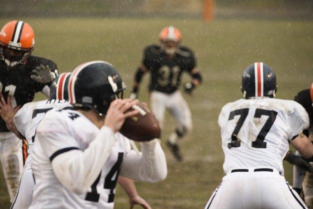 Quarterback Ready to Throw