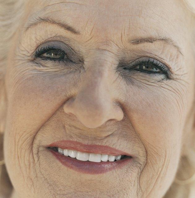 Close Up Portrait of a Senior Woman