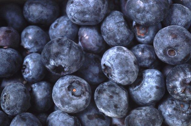 Fresh blueberries, full frame