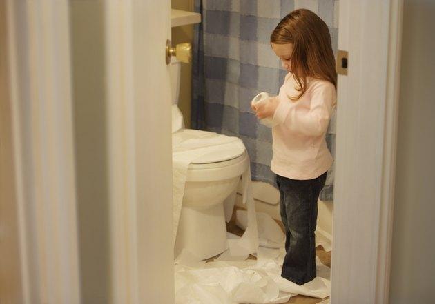 Toilet paper temptation