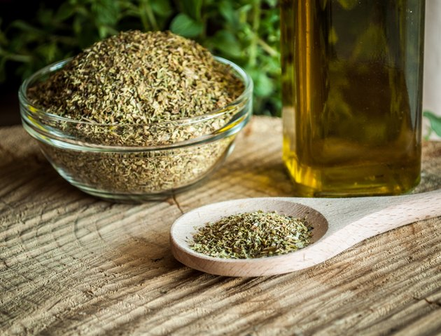 Natural oregano spices