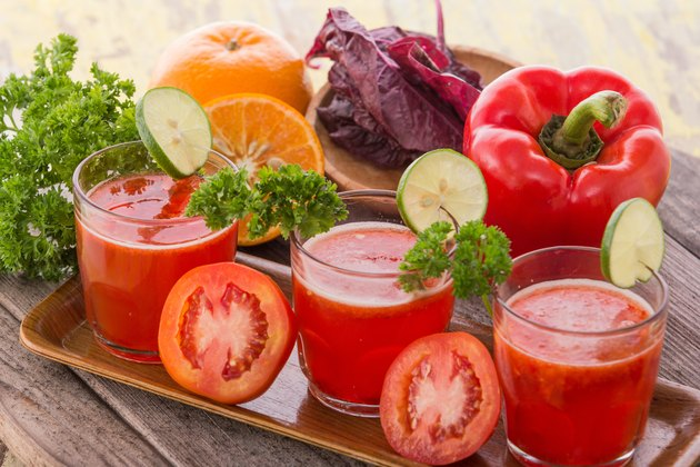 Red Vegetables Mix Juice