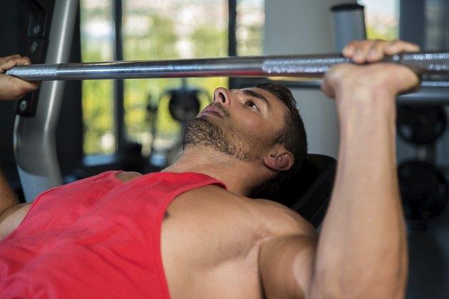 Bench Press At Gym
