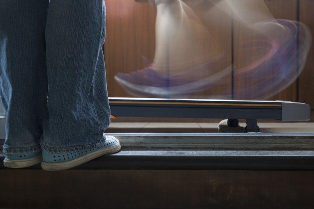 Standing and running