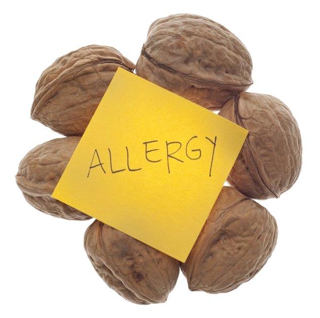 Nut Allergy Warning