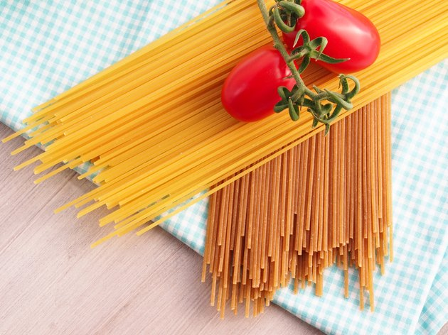 Refined pasta versus whole wheat