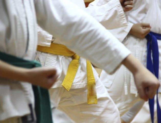 Karate kids.