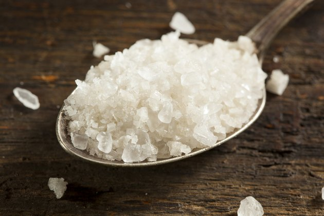 Organic Raw White Sea Salt