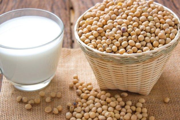 bean and milk