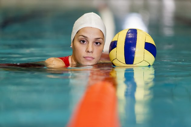 Water polo girl