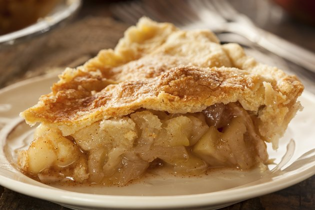 Homemade Organic Apple Pie Dessert
