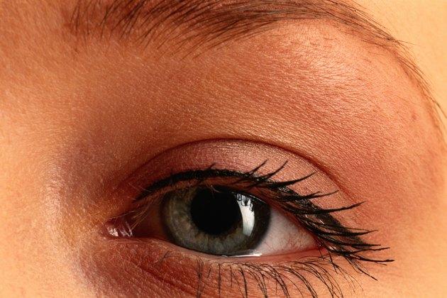Woman' s eye, close up