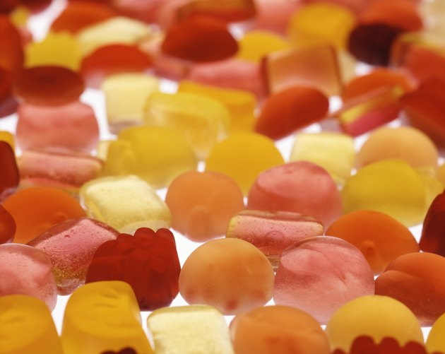 Various Kinds of Candies