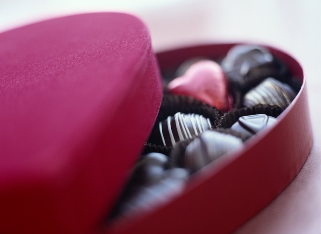 Heart-Shaped Box of Candy