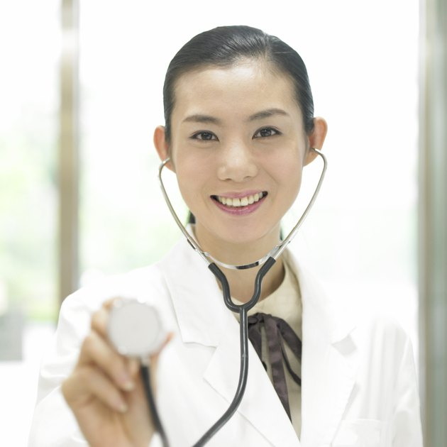 medicinea doctor with a stethoscope
