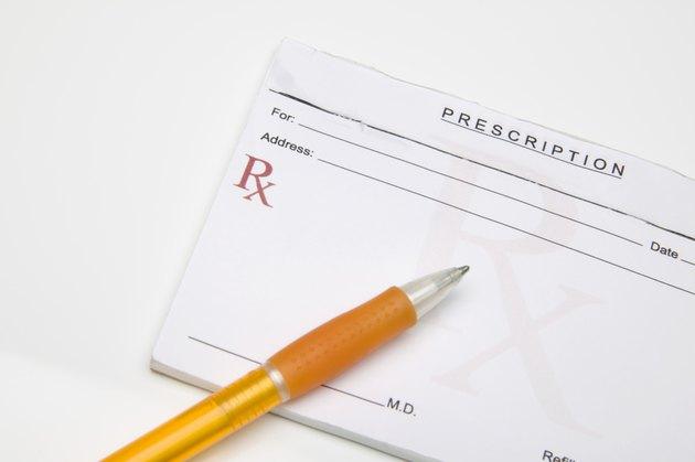 Prescription pad and pen