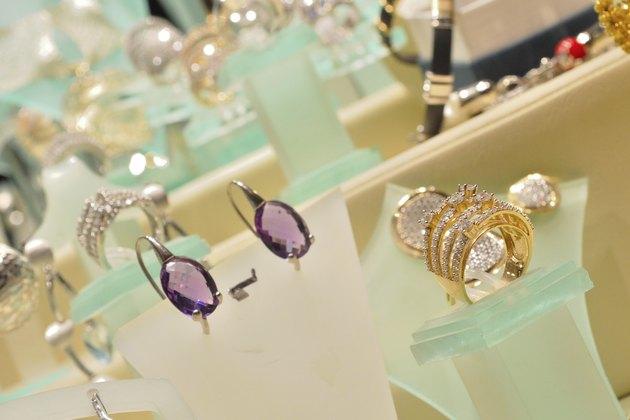 Luxurious woman jewellery