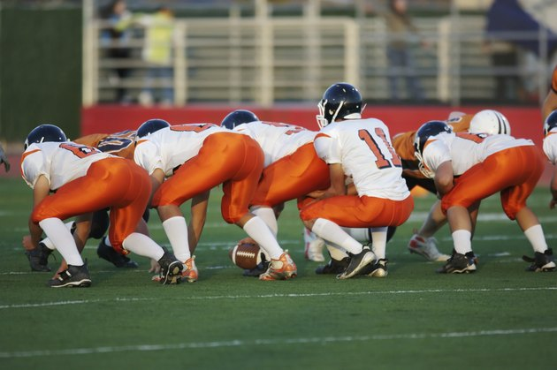 football line stance