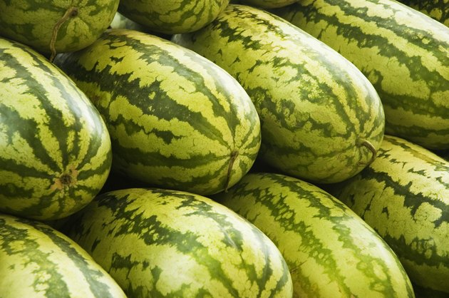 Watermelons, full frame