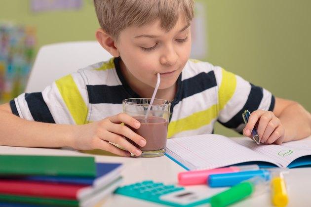 Kid and homework