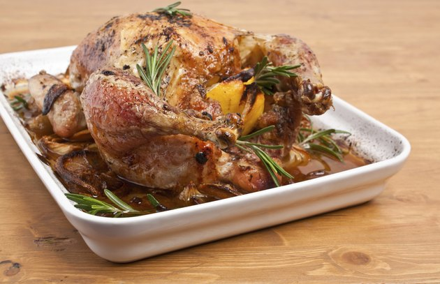 oasted stuffed holiday turkey ( chicken )