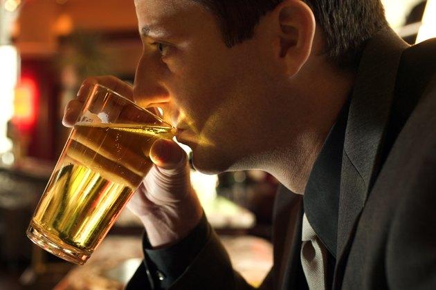 Man drinking