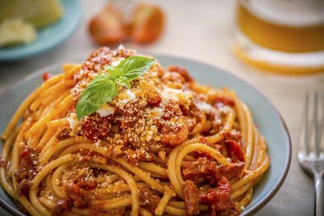 Spaghetti al pomodoro!