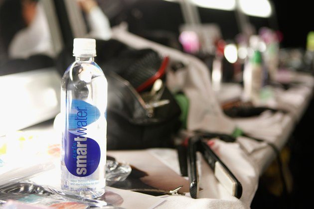 smartwater at Mercedes-Benz Fashion Week Fall 2014