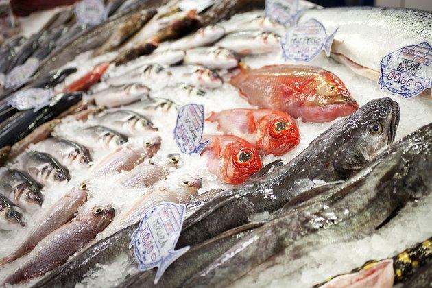 Fresh RedFish at Market