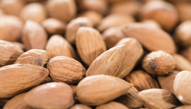 Almonds Background Image