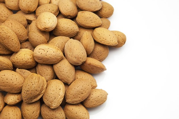 almonds with rind