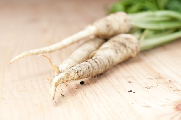 Fresh parsley root