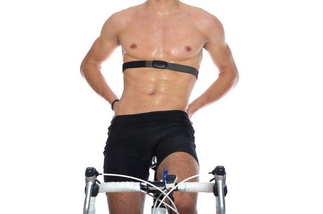 Cycling workout.